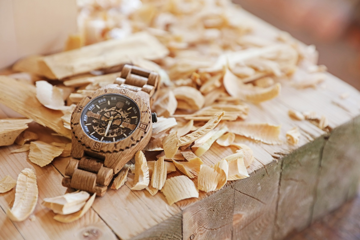 Introducing Lumbr's Troy, a wooden watch inspired by the Trojan Horse